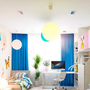 Светильники для детской комнаты